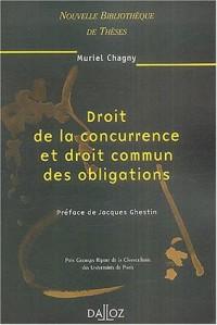 Droit de la concurrence et droit commun des obligations, volume 32