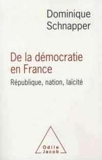 De la démocratie en France