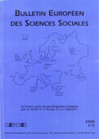 Bulletin Europeen des Sciences Sociales N 6