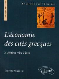 L'économie des cités grecques : De l'archaïsme au Haut-Empire romain