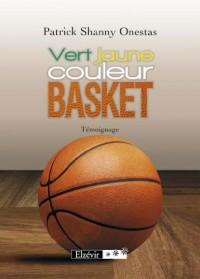 Vert jaune culeur basket