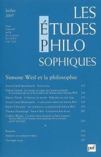 Les études philosophiques Juillet 2007 N 3