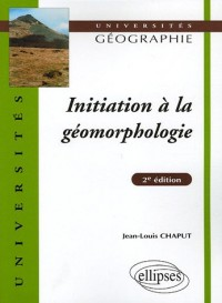 Initiation à la géomorphologie