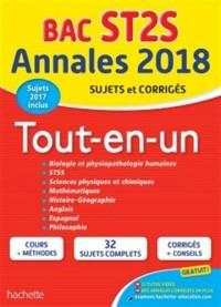 Annales Bac 2018 Sujets Et Corriges Le Tout-En-Un Term ST2S