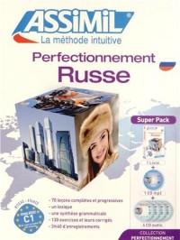 Superpack Perfectionnement Russe (livre+4CD audio+1CD mp3)