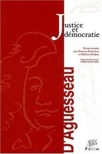 Justice et démocratie : Actes du colloque organisé à Limoges les 21-22 novembre 2002