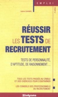 Réussir les tests de recrutement
