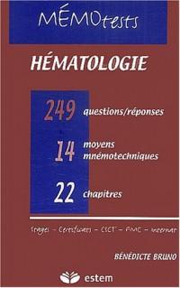 Hématologie : Tout le programme de l'internat en questions-réponses
