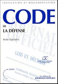 Code de la défense : Partie législative