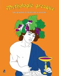 MYTHES GRECS, 30 COLORIAGES