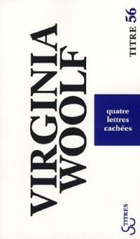 Quatre lettres cachées : Edition bilingue anglais-français