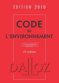 Code environnement 2010 commenté