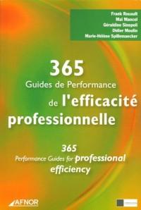 365 Guides de performance et d'efficacité professionnelle : Edition français - anglais