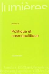 Politique et cosmopolitique [Poche]