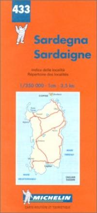 Carte routière : Sardaigne, N° 433