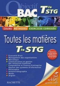 Toutes les matières Te STG