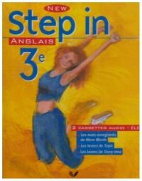 New Step In : Anglais, 3e LV1 (cassette audio)