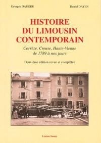Histoire du Limousin Contemporain