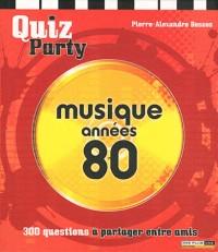 Quiz musique années 80