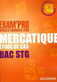 Mercatique Bac STG : Etude de cas