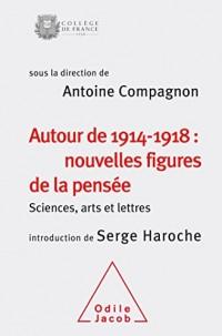 Autour de 1914-1918: nouvelles figures de la pensée: Sciences,arts et lettres(colloque 2014)