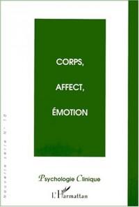 Psychologie clinique nelle serie n.10 : corps affect emotion