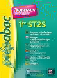 PREPABAC - Toutes les matières - 1re ST2S - Révision et entrainement