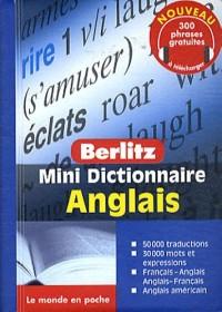 ANGLAIS mini dictionnaire en français