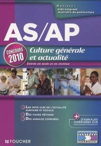 As/Ap culture générale et actualité : Concours 2010