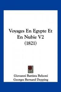 Voyages En Egypte Et En Nubie V2 (1821)