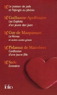 Lectures amoureuses Coffret en 5 volumes