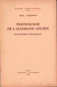 Phonologie de l'allemand ancien : Les systèmes vocaliques