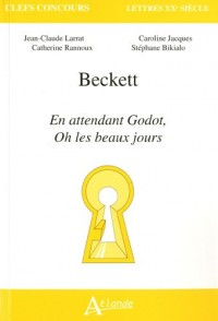 Beckett En attendant Godot, Oh les beaux jours