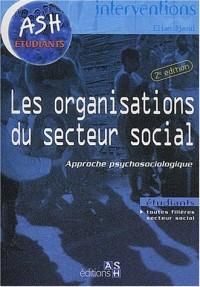 Les organisations du secteur social : Approche psychosociologique