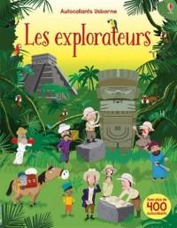 Les explorateurs - Autocollants Usborne
