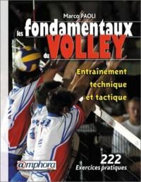 Les Fondamentaux du volley : Entraînement technique et tactique