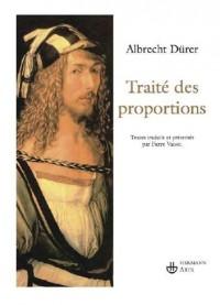 Traité des proportions suivi d'un choix de correspondances et d'écrits théoriques
