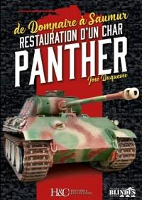 Restauration d'un char Panther : De Dompaire à Saumur