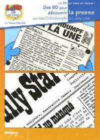 Des BD pour decouvrir la presse : Avec Les Schtroumpfs et Lucky Luke