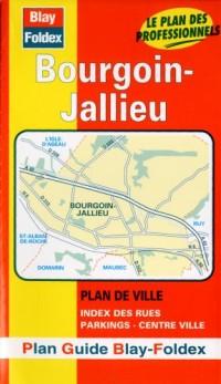 Plan de ville : Bourgoin-Jallieu (avec un index)