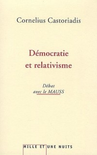 Démocratie et relativisme