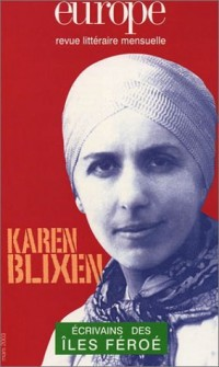 Europe, numéro 887, mars 2003 : Karen Blixen