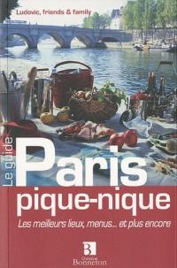 Paris pique-nique : Les meilleurs lieux, menus... et plus encore