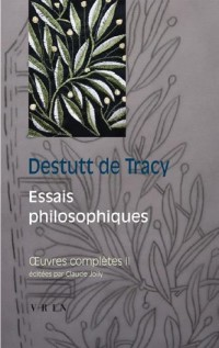 Oeuvres completes II essais philosophiques