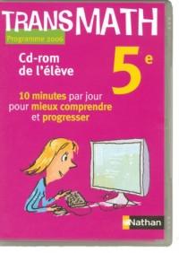 Transmath 5e CD-ROM Eleve 2006