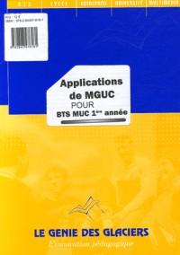 Applications de MGUC pour BTS MUC 1e année