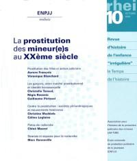Prostitution des Mineurs au Xxe Siecle