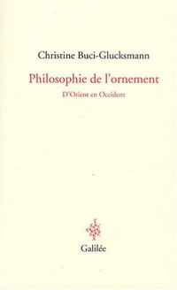 Philosophie de l'ornement