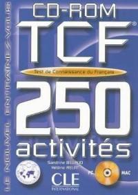 CD ROM Tcf 250 Activites