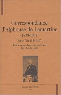 Correspondance d'Alphonse de Lamartine (1830-1867) : Tome 7, 1856-1867